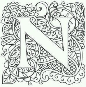 бесплатно английский алфавит карточки раскраски распечатать