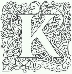 бесплатно английский алфавит раскраска для детей 2 класс