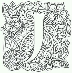 бесплатно английский алфавит раскраска для детей с картинками