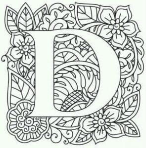 бесплатно английский алфавит раскраска с транскрипцией