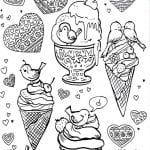 бесплатно еда картинки раскраски 1