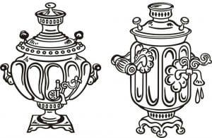 бесплатно картинка раскраска чашка