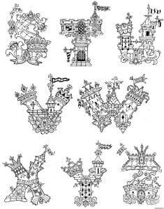 бесплатно раскраска английский алфавит amelica