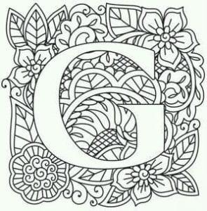 бесплатно раскраска английский алфавит в картинках распечатать