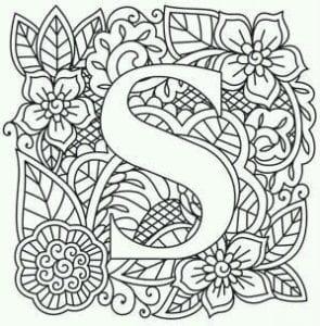 бесплатно раскраска по английскому языку алфавит