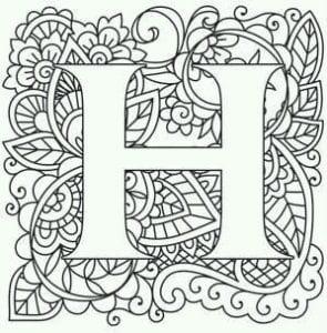 бесплатно раскраски английский алфавит с картинками и словами