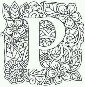 бесплатно раскраски английский алфавит с картинками