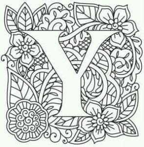 бесплатно раскраски английский алфавит в картинках книжкой