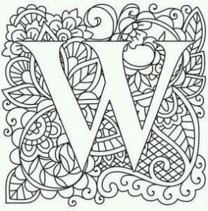 бесплатно раскраски букв английского алфавита для детей