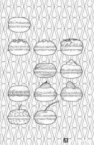 бесплатно раскраски на тему еда и продукты 1