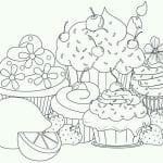 бесплатно раскраски на тему еда 1