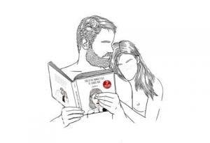 бесплатно распечатать раскраска мужчина и женщина
