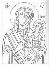 бесплатно распечатать раскраски православные 1