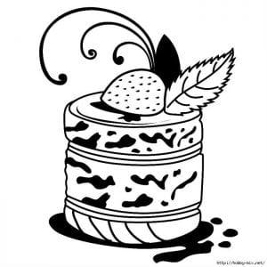бесплатно скачать раскраски на тему еда и продукты