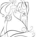 бесплатно свадебные раскраски