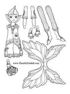 бумажные куклы вырезалки