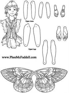 бумажные куклы одевалка