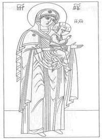 церковь и храм православие чудеса божии раскраски 2