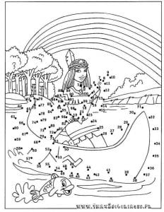 для детей рисунки соединять по точкам