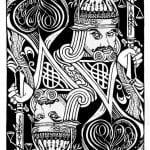 игральные карты раскраска (14)