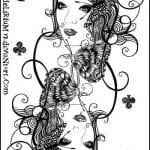 игральные карты раскраска (19)