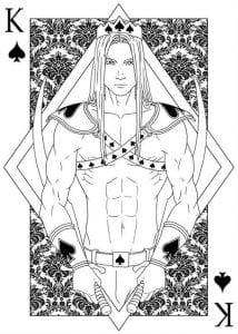 игральные карты раскраска (23)