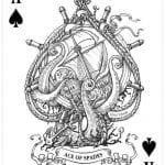 игральные карты раскраска (28)