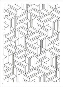 иллюзии раскраски