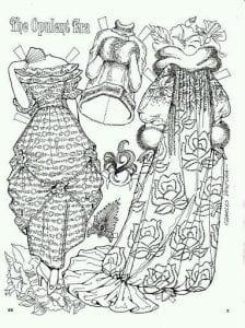 картинки девочки куклы бумажные