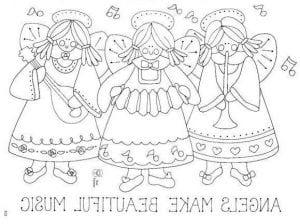 картинки для детей раскраски ангелы бесплатно