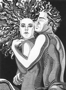 картинки раскраски любовь