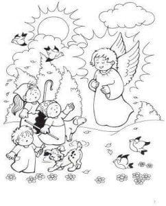 красивые по православию для детей раскраски