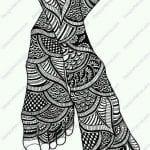 на листе рисунки татуировок