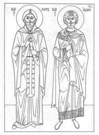 по православной культуре раскраски 2
