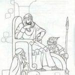 православие раскраски библия 2