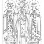 православные раскраски 2