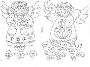 православные для детей раскраски ангелов