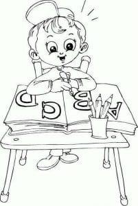 pro-shkolu-dlya-detej-kartinki-raskraski-201x300 Раскраски про школу