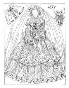 raskrashivat-odezhdu-bumazhnyh-kukol-236x300 Бумажные куклы