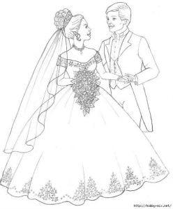raskraska-svadba-248x300 Свадьба