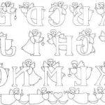раскраски ангелов православные для детей бесплатно