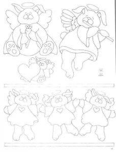 раскраски ангелы картинки для детей