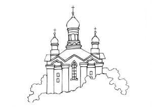 раскраски библия православие