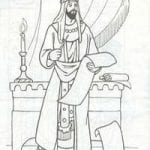 раскраски церковь и храм православие чудеса божии 1
