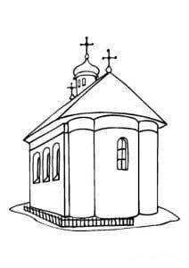 раскраски на православную тему