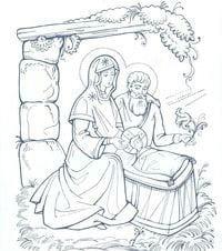 раскраски православие 1