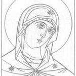распечатать бесплатно чудеса божии раскраски церковь и храм православие 1