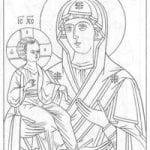 распечатать бесплатно по основам православной культуры раскраски