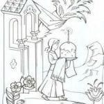 распечатать бесплатно православные распечатать раскраски 1