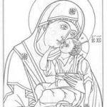 распечатать бесплатно раскраски церковь и храм православие чудеса божии